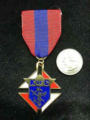 Knights of Columbus Council Jewel   Emblem of the Order - 3rd Degree Vintage