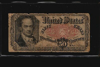 1874 Series 50c Fractional Currency 5th Issue Banknote Fifty Cents FR-1381