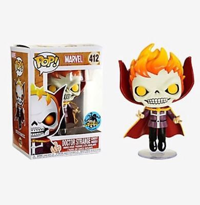 Funko Pop: LACC Dr. Strange Ghost Rider Shared Hot Topic Exclusive Pre-Order