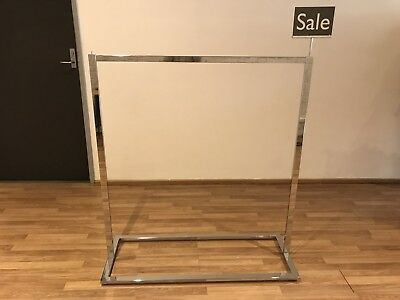 Stainless Chrome Clothes Hanging Rack