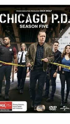 Chicago P.D. PD Season 5 BRAND NEW R4 DVD
