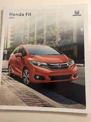 2019 HONDA FIT 20-page Original Sales Brochure
