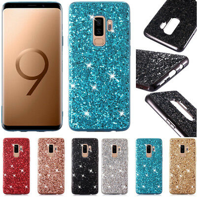 Bling Glitter Case Plating TPU Cover For Samsung Note 10 Plus S10 S9 + A50 M20