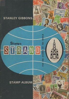 STANLEY GIBBONS STRAND 33rd EDITION 1969 (REPRINTED 1971) STAMP ALBUM NO STAMPS