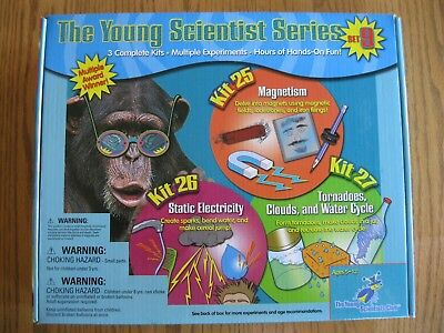 The Young Scientists Club Series - Science Experiments Kit - Set #9 - Nib
