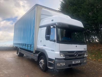2011 Mercedes Atego 1224 high roof sleeper cab 25ft curtainsider tail-lift