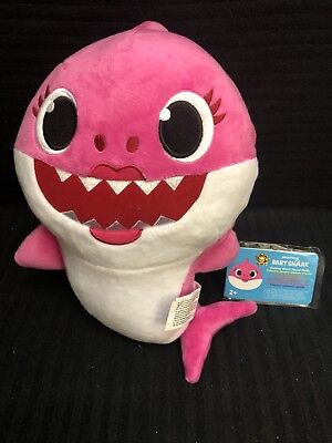 NEW Pinkfong Baby Shark Official English Version Song Doll - Pink Mommy Shark
