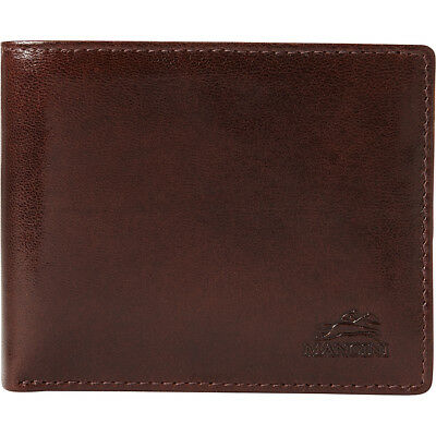 Mancini Leather Goods Mens RFID Secure Wallet with Men's Wallet NEW