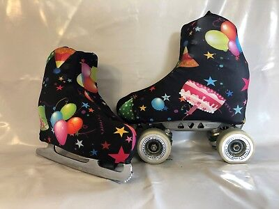 Celebrate Boot Covers for RollerSkates and Ice Skates  S,M,L