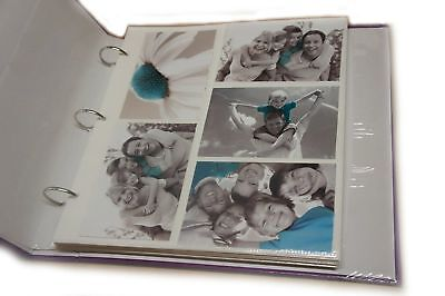 Arpan 20 Refill Photo Album Sheet Holds 6x4'' 200 Photos For Large Ringbinder...