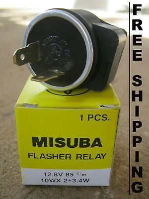 Honda XL250 MTX80 CBR125 C70 Innova Monkey Z50 Flasher Relay 12V - FREE SHIPPING