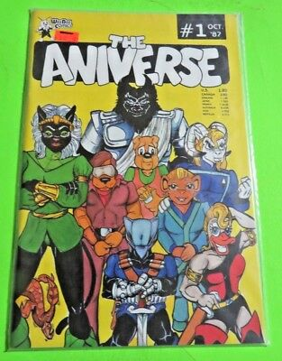 The Aniverse #1 WeeBee Comics Copper Age (1987) C1109