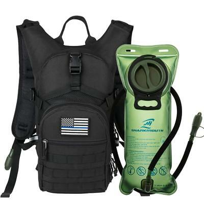 Military Tactical Backpack Hydration Pack With 2L Water Bladder Bag For Hiking