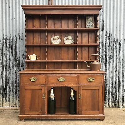 Victorian Oak Welsh Dresser Antique Sideboard Gallery