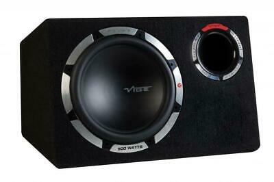 "Vibe PULSE Series 12"" CBR 900 watts Bass Reflex Sub Subwoofer Enclosure 300w RMS"