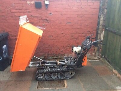 Honda hp500h tracked dumper great condition new tracks half ton load can deliver