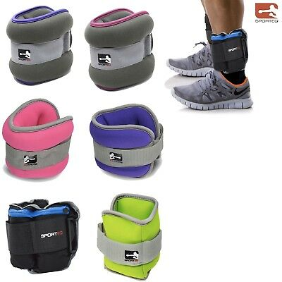 Ankle / Wrist Weights Cuff Leg Strap Running Boxing Braclets Straps Gym Unisex