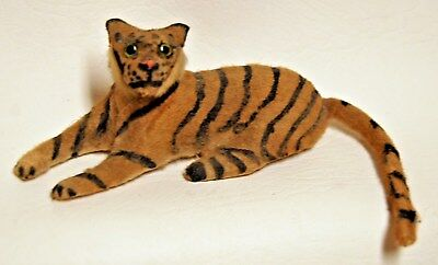 Extremely Rare Antique GERMANY German Tiger Wild Cat Toy Glass Eyes