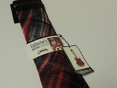 Jerry Garcia tie MICKEY in red pattern  NWT