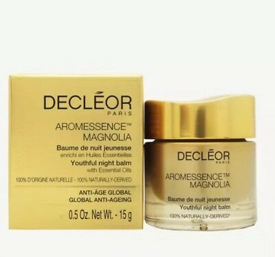 DECLEOR Aromessence MAGNOLIA Youthful Night Balm Full Size 15ml BN 100% GENUINE