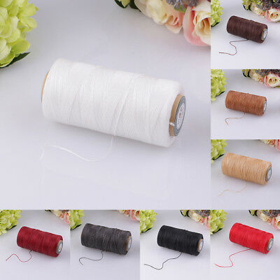 0.8mm Polyester Waxed Cord DIY Bracelet Jewellery Making Bead Sewing Wire