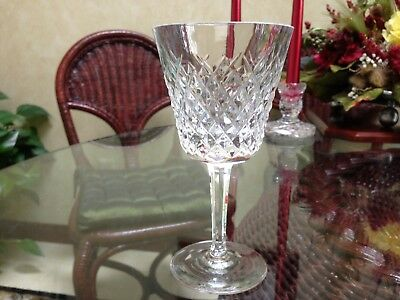 "Waterford Alana 5 7/8"" Claret Glasses..Signed..Ireland..7 Available"