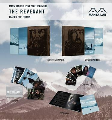 The Revenant - Mantalab Exclusive  Leather Slip - Bluray Steelbook - #254/1700