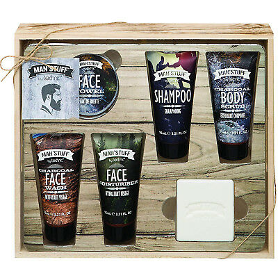 Technic Man'Stuff Men Drawer Bath Body Toiletry Christmas Gift Sets for Him