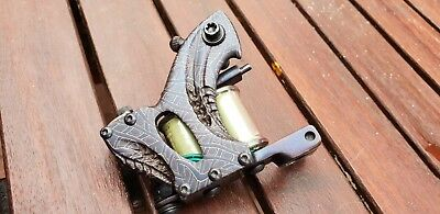 Aaron cain Beehive Damascus Tattoo Machine 2009 Mint Condition