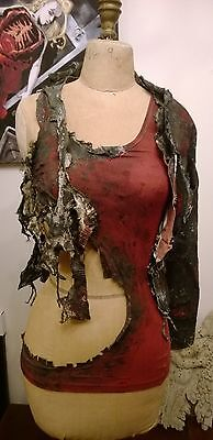 screen used Heroes Hayden Panettiere Claire Bennet burn FX double costume