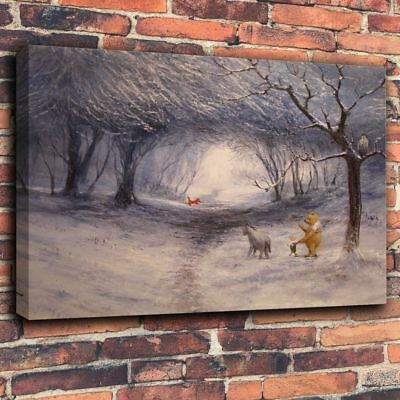 HD Giclee Print Disney Oil Painting on Canvas Home Decor - Winnie the Pooh