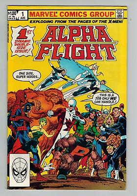 Alpha Flight 1 August 1983 1St Apps Puck And Marrina Vf+