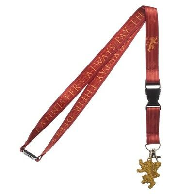 Lanyard - Game of Throne House - Lannister New la70lcgth