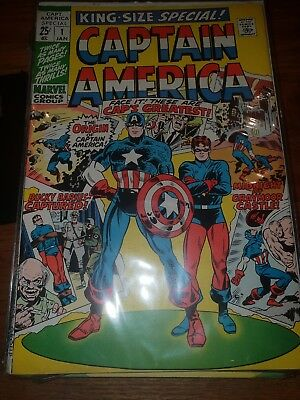 Captain America King Size Special 1