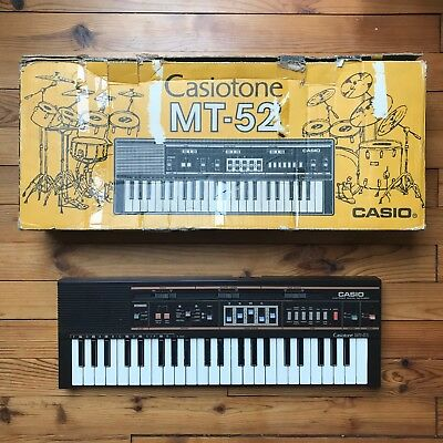 Casio MT-52 vintage Drum-/ Rhythm-/ Groove Machine / Keyboard + orig. Packaging