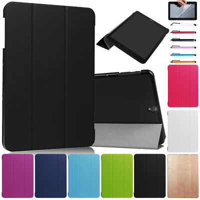 Ultra Thin Smart Stand Case Cover For Samsung Galaxy Tab A E 7.0 8.0 9.6 inch