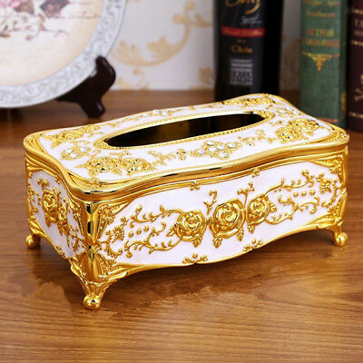 Lovoski Tissue Box Cover Chic Napkin Case Holder Living Room Decor