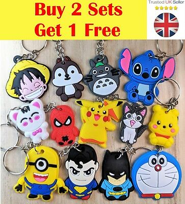 Marvel dc comic cartoon key keyring keychain hulk deadpool spider man thor cover