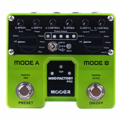 Mooer Mod Factory Pro Guitar Effects Pedal New