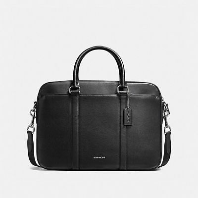 a83b2ab0b5bb NWT Coach F59057 Men s Perry Slim Brief Crossgrain leather bags Suitcases   595