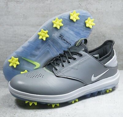 2cfdc2cfe51 Nike Air Zoom Direct Mens Golf Shoes Grey Black 923965 002 Spikes Sz 9.5