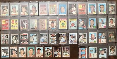 457 CARD LOT of HIGH-END VINTAGE BASEBALL (MANTLE, MCCOVEY, AARON, KOUFAX)+ MORE