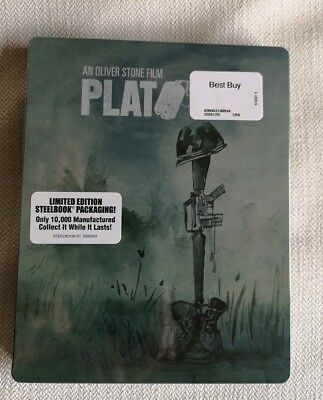 Platoon Limited Edition Steelbook Blu-Ray (only 10,000 copies)
