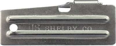 2x US ARMY SHELBY P-51 SURVIVAL CAN / BOTTLE OPENER Bushcraft Camping NOT A COPY