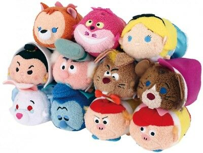 TSUM TSUM Alice in Wonderland Limited Ver. Set of 11 New Tags Disney Store Japan
