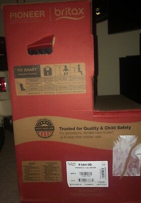 Britax Pioneer G11 Harness Booster Car Seat Static Other