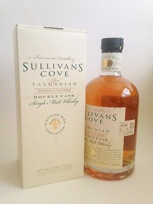 Sullivans Cove Double Cask Single Malt Whisky DC085 (700mL) - Award Winner!!!