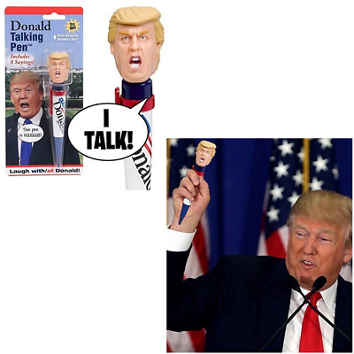 Donald Talking Pen 8 Maga Sayings Trump Real Voice Republican Presidential Gifts