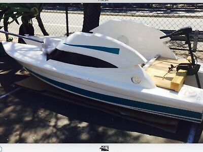 Riveria 3 Man Boat with Electric 2 H Motor