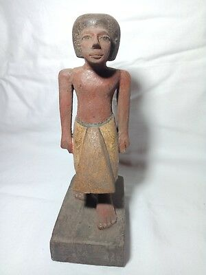 A rare piece of wood for one of the priests of the Temple of Amun 23cm